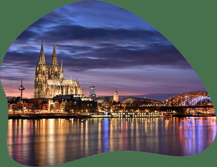 Bild der Stadt Köln zur symbolischen Darstellung der Regeln zu Hundehaltung in Nordrhein-Westfalen.