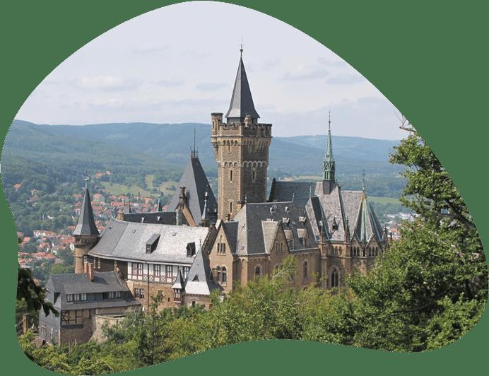 Bild des Schloss Wernigerode, als Titelbild für die Regeln zur Hundehaltung in Sachsen-Anhalt